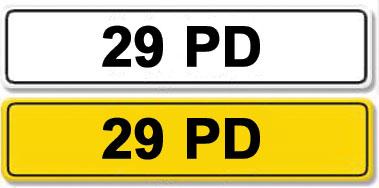 Lot 3-Registration Number 29 PD