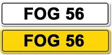 Lot 4-Registration Number FOG 56