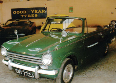 Lot 2-1970 Triumph Herald 13/60 Convertible