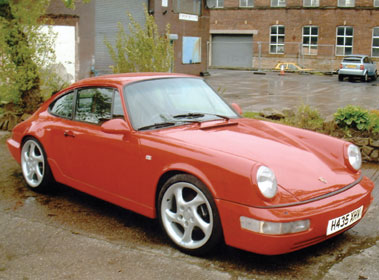 Lot 78-1990 Porsche 911 Carrera 4