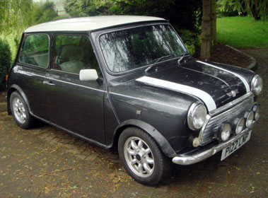 Lot 24-1996 Rover Mini Cooper 1.3i