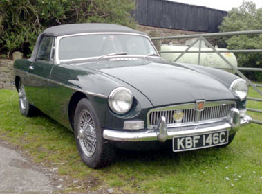 Lot 30-1965 MG B Roadster