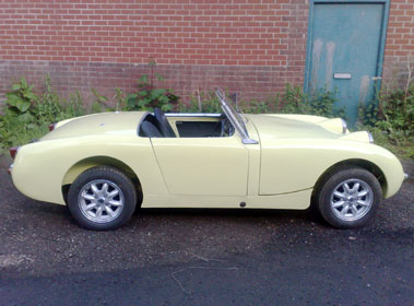 Lot 59-1958 Austin-Healey 'Frogeye' Sprite