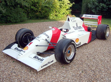 Lot 56-1991 Lola T91-50 F3000 Single Seat Racecar