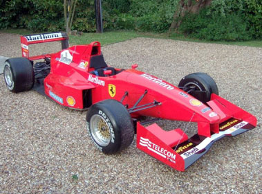 Lot 57-1994/5 Reynard 94D F3000 Single Seat Racecar