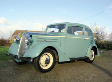 Lot 75-1936 Vauxhall DX 14/6 Coupe