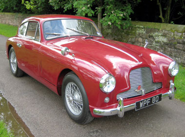 Lot 52-1955 Aston Martin DB2/4 2.9 Litre Saloon