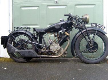 Lot 9-1930 Panther 500