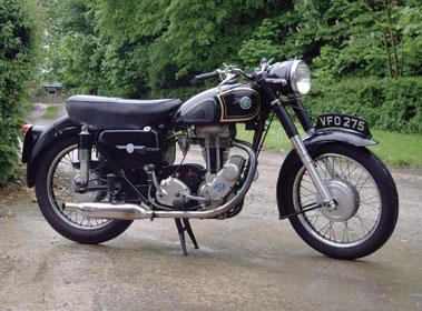 Lot 10-1956 AJS 16MS