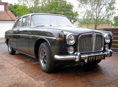 Lot 95-1972 Rover P5B 3.5 Litre Coupe
