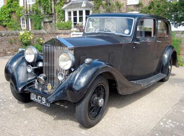 Lot 31-1936 Rolls-Royce 25/30 Saloon