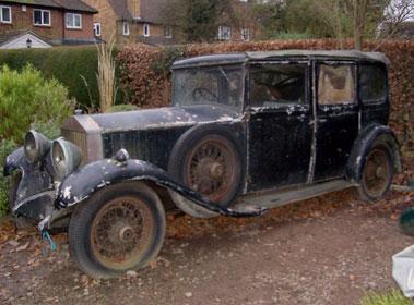 Lot 14-1929 Rolls-Royce 20/25hp Salamanca