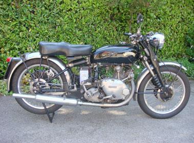 Lot 7-1953 Vincent Comet Series C