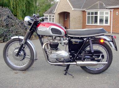 Lot 4-1968 Triumph T120R Bonneville