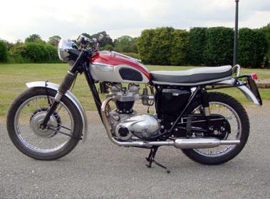 Lot 2-1967 Triumph TR6 Trophy