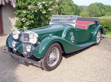 Lot 46-1937 Alvis Speed 25 SB Cross & Ellis Tourer