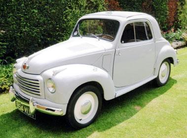 Lot 1-1953 Fiat 500 C Topolino