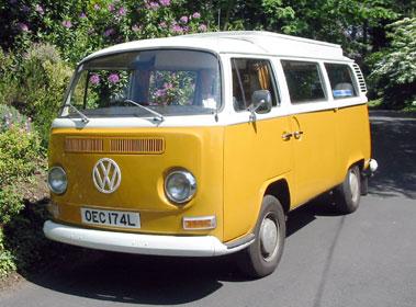 Lot 64-1972 Volkswagen Type 2 Camper Van