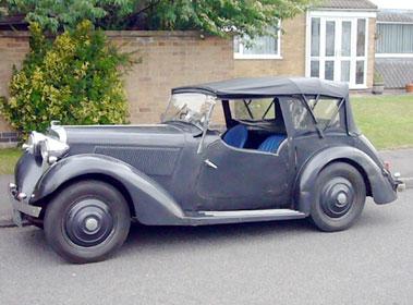 Lot 3-1938 Talbot Ten Tourer