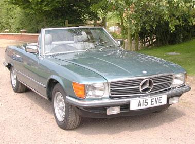 Lot 59-1985 Mercedes-Benz 280 SL