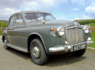Lot 63-1959 Rover 90 Saloon