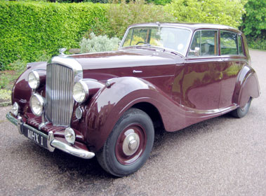 Lot 72-1948 Bentley MK VI H.J. Mulliner Saloon