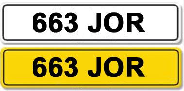 Lot 1-Registration Number 663 JOR
