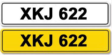 Lot 2-Registration Number XKJ 622