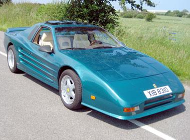 Lot 44-1988 Ferrari Testarossa Evocation