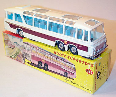Lot 201-Dinky Toys #952 Bedford Val Vega Major Luxury Coach
