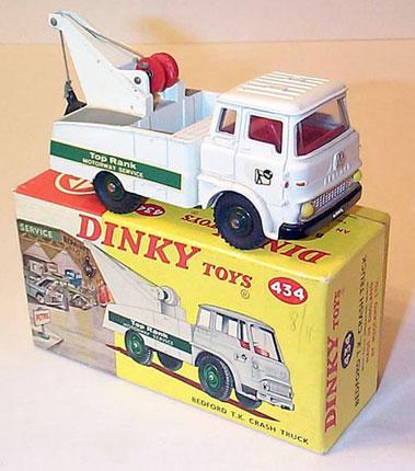 Lot 202-Dinky Toys #434 Bedford TK Top Rank Crash Truck
