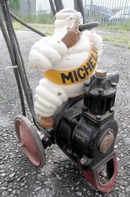 Lot 700-Michelin Bibendum Air Compressor