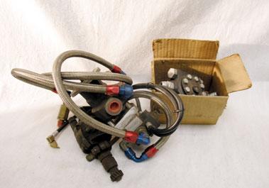 Lot 305-Two Gilburn Fuel Pumps