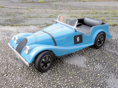Lot 215-Morgan 4/4 Child's Pedal Car