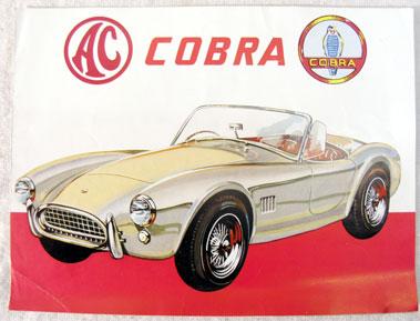 Lot 155-AC Cobra Factory Sales Brochure
