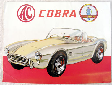Lot 155-AC Cobra Factory Sales Brochure