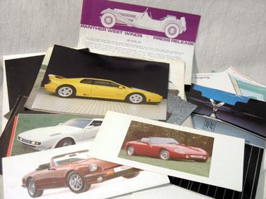 Lot 154-Quantity of British Prestige Car Sales Brochures