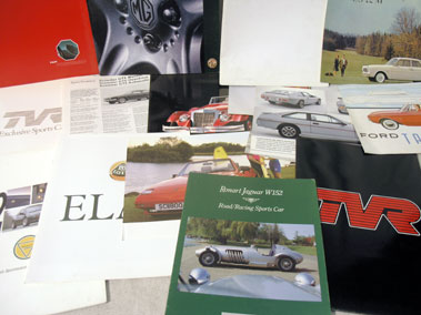 Lot 161-Quantity of Sales Brochures