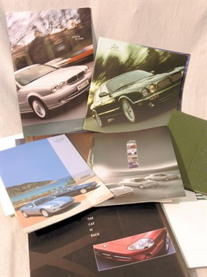 Lot 164-Quantity of Jaguar & Daimler Sales Brochures