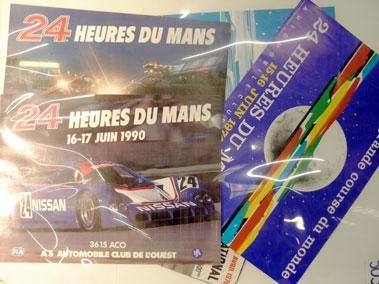 Lot 503-Six Le Mans Posters