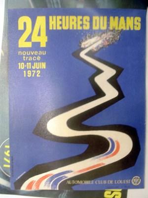 Lot 504-Two Original Le Mans Posters