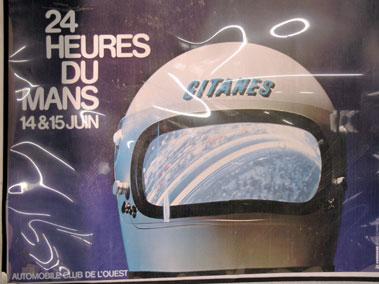 Lot 505-1965 Le Mans Original Poster