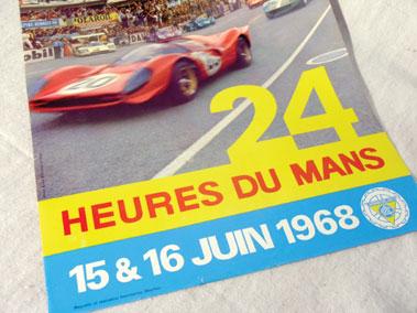 Lot 506-1968 Le Mans Original Poster