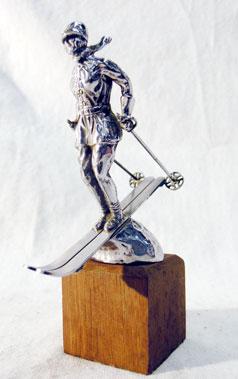 Lot 314-Riley Ski Lady Mascot