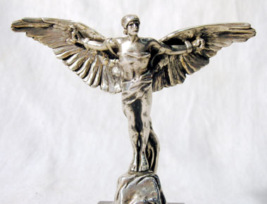 Lot 317-Icarus Accessory Mascot by George
