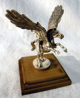 Lot 321-'Bellerophan and Pegasus' Accessory Mascot