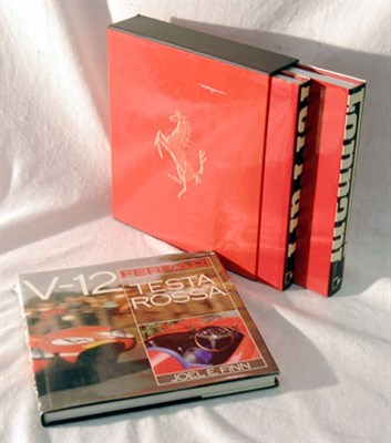 Lot 105-Two Ferrari Books