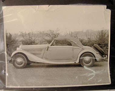 Lot 622-Pre-War Mercedes-Benz Photographs