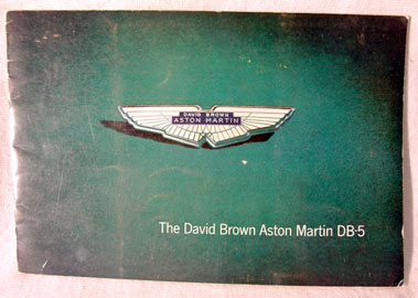 Lot 130-Aston Martin DB5 Original Sales Brochure