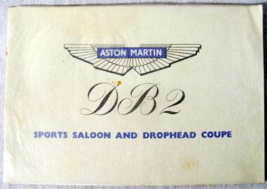 Lot 134-Aston Martin DB2 Sales Brochure